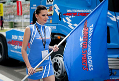 Cheerleader - Truck Racing Event 2015