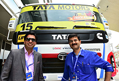 T1 Truck Racing Event Buddh Circuit